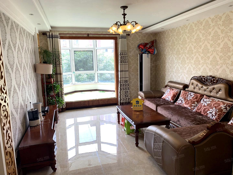 中海城圣朝菲 豪华装修大三居 家具齐全 随时看房 业主爽快人