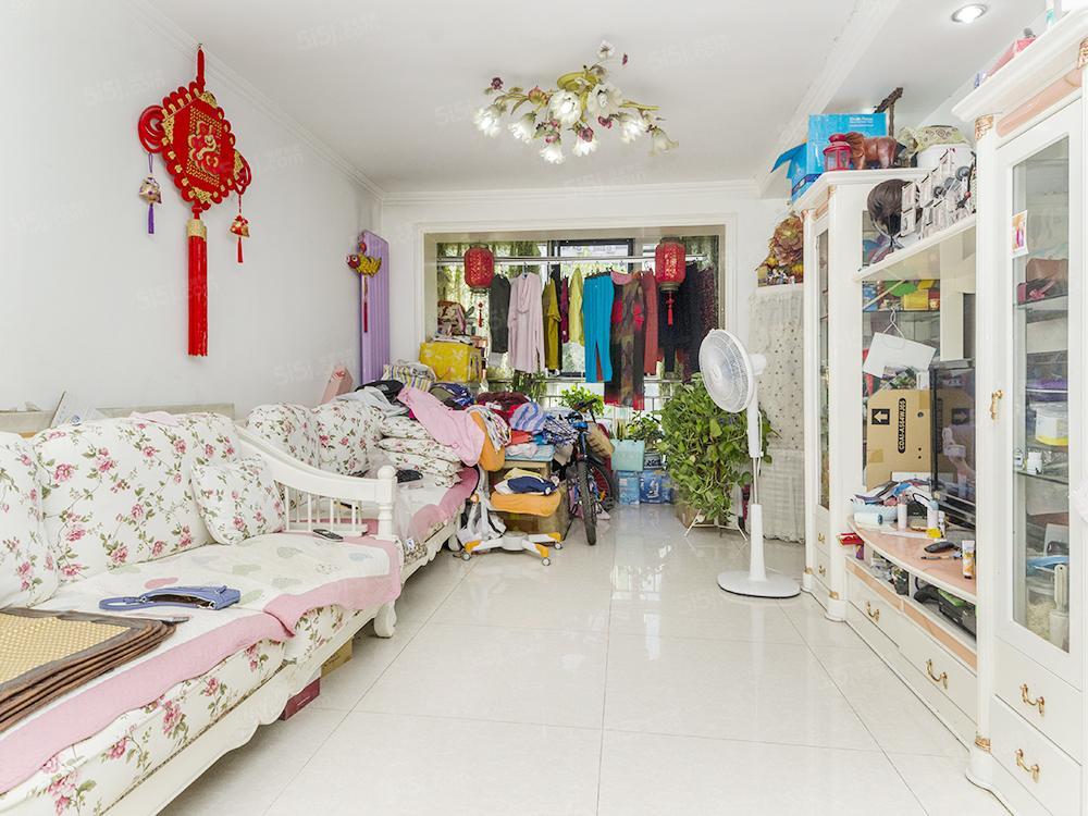 彩虹新城,商品房南北通透两居室,88.55平米,满五年!
