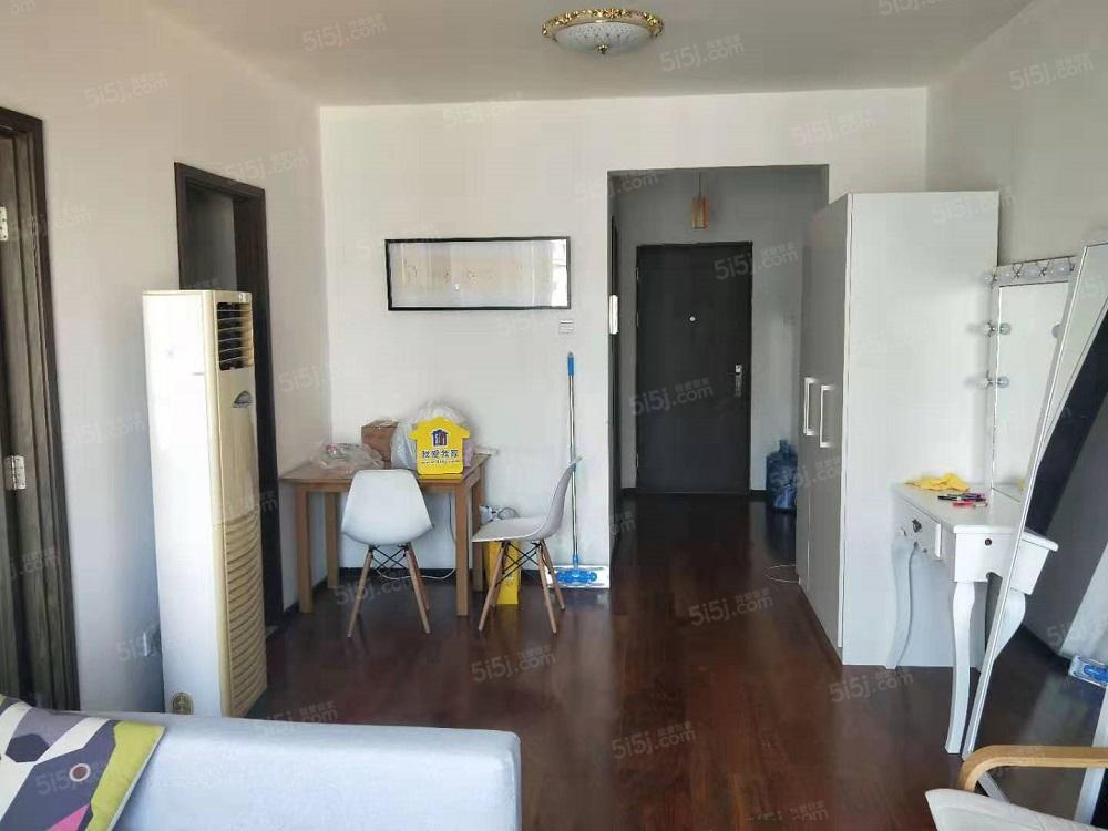 苹果九龙山双井地铁正规一室一厅随时看房拎包入住