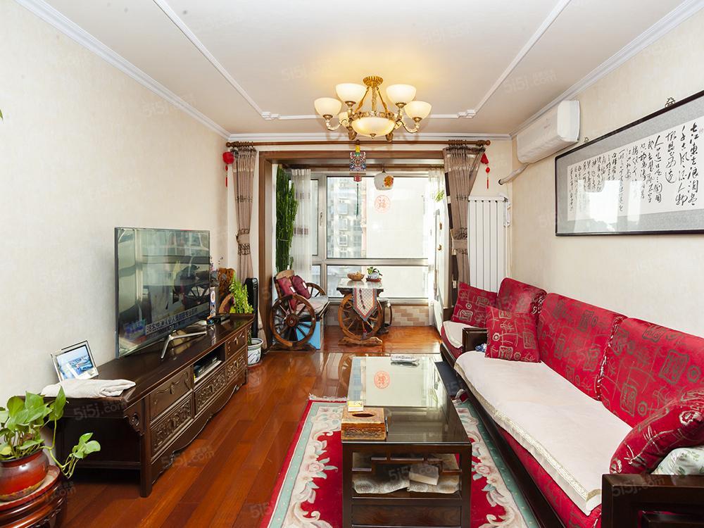 富润家园经典户型三居,户型方正,使用率高,无浪费面积