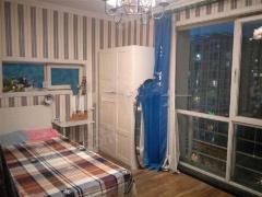 北京我爱我家此房为新龙城三居两卫户型 两卧和客厅朝南户型 南北通透