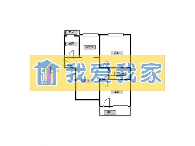 北京我爱我家西潞园+交通便利+首付100度第9张图