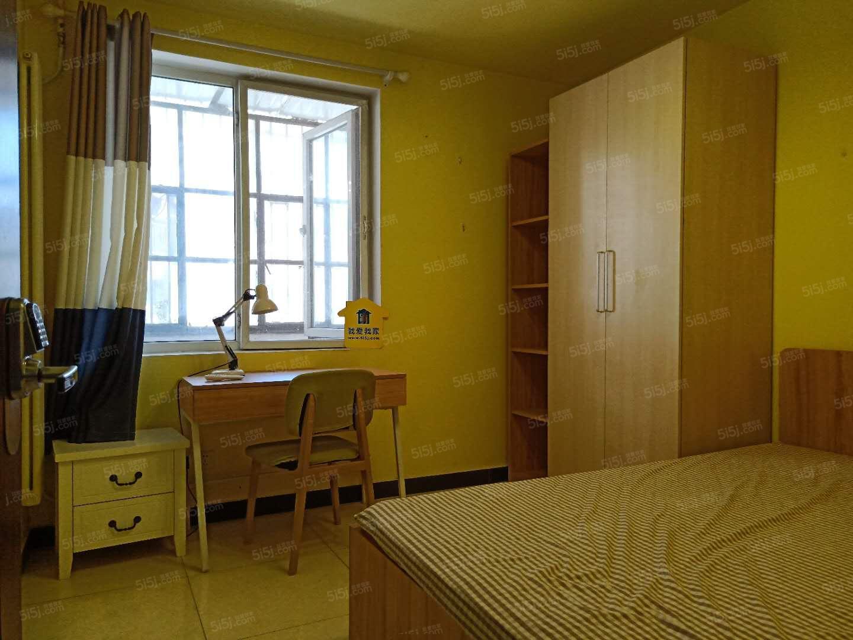 14/1号线大望路 光辉里小区精装修两居室,两个房间一般大
