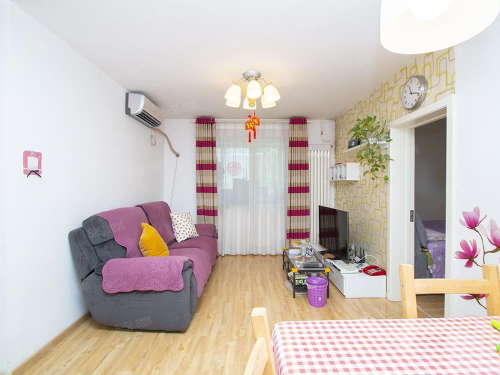 东南向 带露台 正规两居室 精装修看房方便