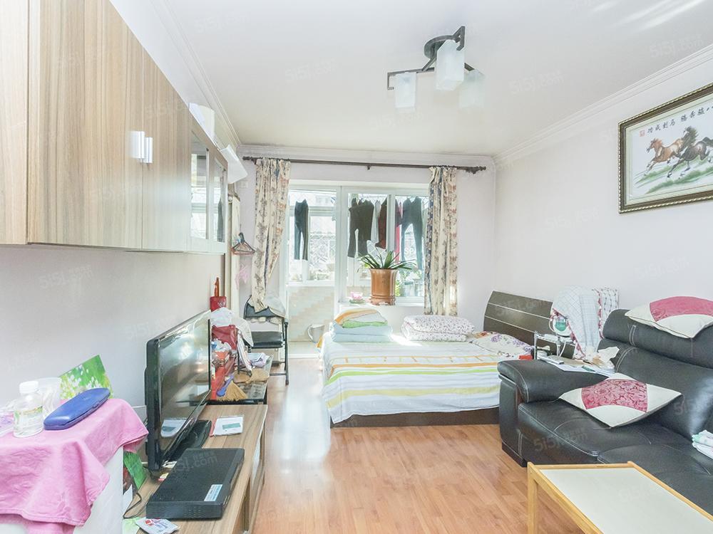 三环里 低楼层两居室 精装修 明厨明卫 满五年