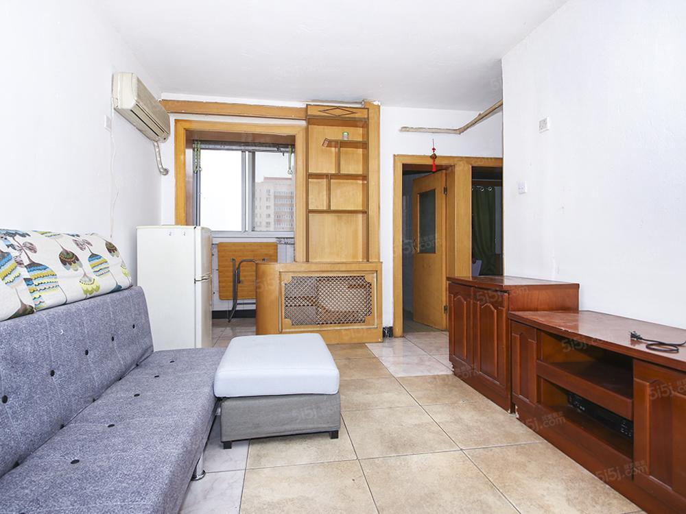 劲松地铁口 全南向一居室 客厅南向有明窗 满五年公房有电梯