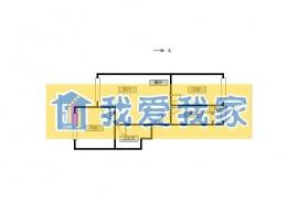 北京我爱我家山水华府 带电梯2居室,第10张图